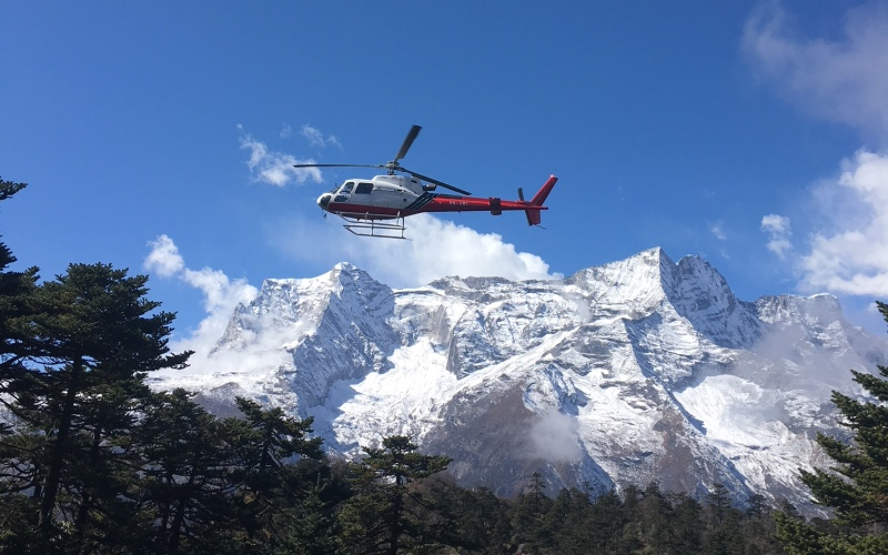 Mount Everest Helicopter Tour 2018