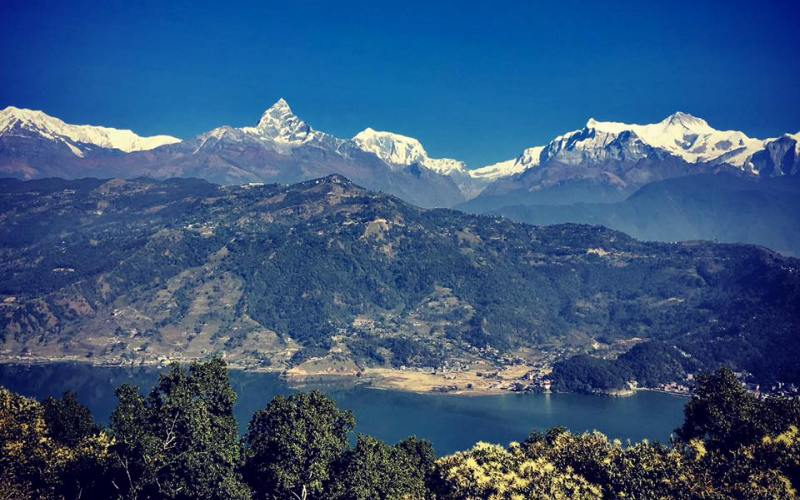 Exploration & Paragliding in Pokhara