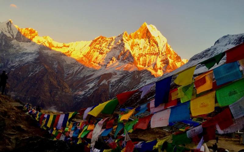 Annapurna base camp senior citizens trek