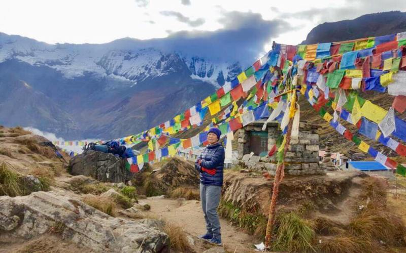 Annapurna base camp senior citizens trek